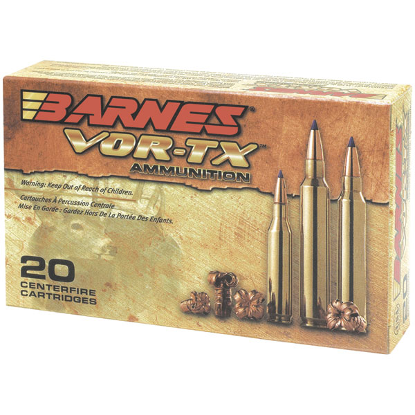 Barnes 21575 VOR-TX 338 Winchester Mag 210GR Tipped TSX Boat Tail 20Box|10Case