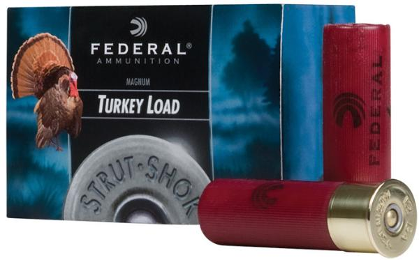 Federal FT158F5 Premium Upland Strut-Shok 12 Gauge 3 1-7|8 oz 5 Shot 10 Bx| 25 Cs in.