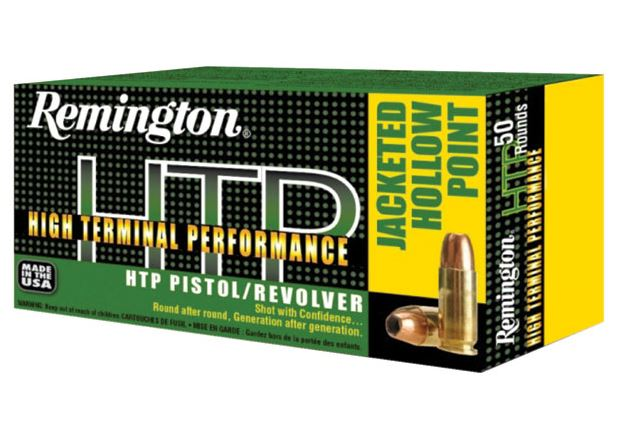 Rem Ammo RTP38S21 HTP 38Sp 125GR Semi Jacketed Hollow Point 50Bx|10Cs
