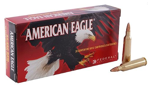 Federal AE22250G American Eagle Varmint 22-250 Remington 50 GR Jacketed Hollow Point 20 Bx| 10 Cs