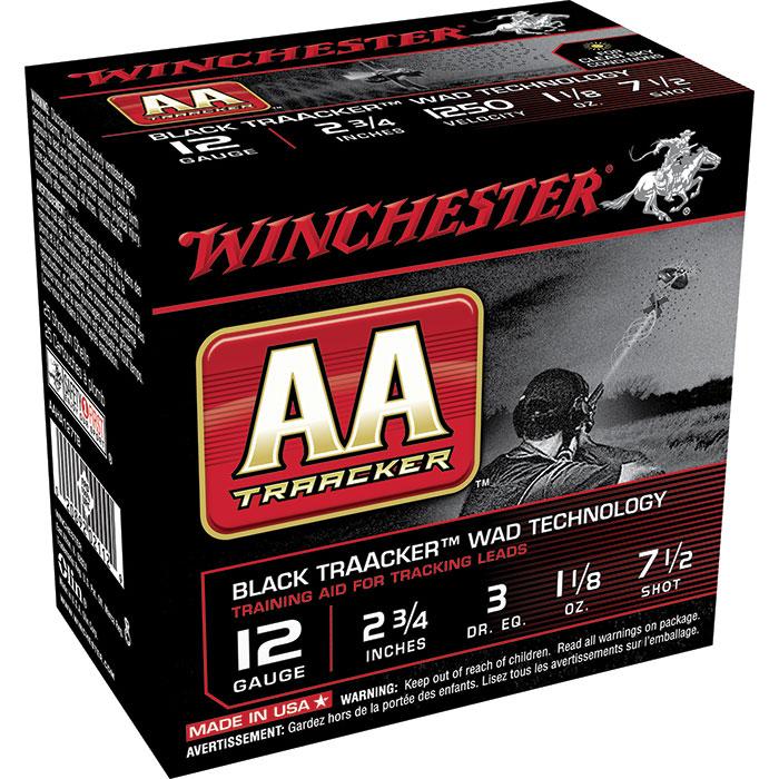 Winchester Ammo AAHA127TB AA 12 Gauge 2.75 1-1|8 oz 7.5 Shot 25 Bx| 10 Cs in.