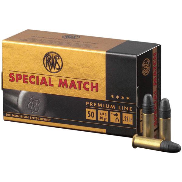 22 LR RWS SPECIAL MATCH 50CT A