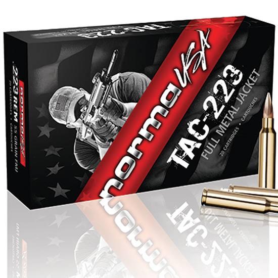Norma Ammunition (RUAG) 10157502 Match Sierra Matchking 223 Rem 77 gr Hollow Point Boat Tail (HPBT) 20 Bx/ 10 Cs