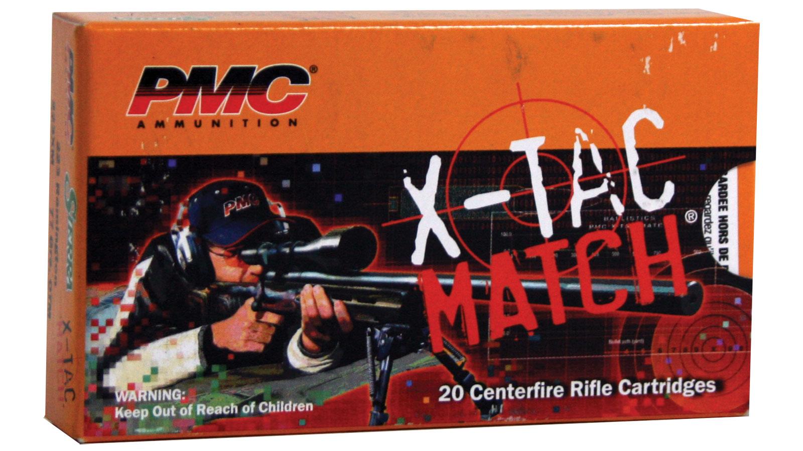 PMC X-TAC, .223 Rem Sierra Match, 77 Grain, OTM, 20 Rounds