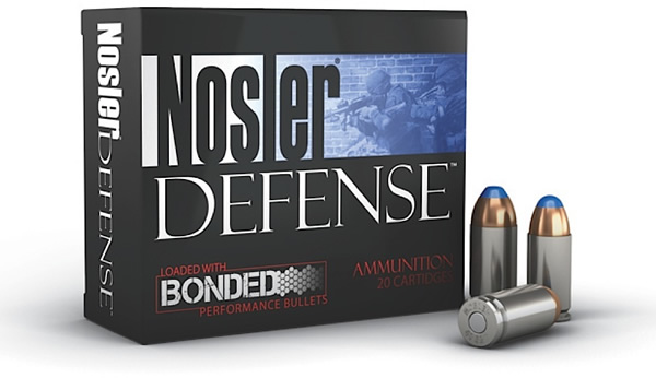 Nosler 39515 Performance Bonded 40 S&W Bonded Tipped 200 GR 20Box|10Case