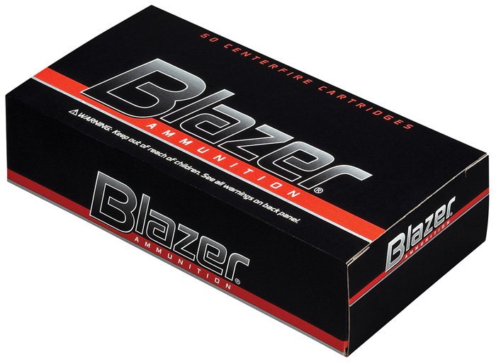 CCI 5204 Blazer Brass 38 Special 125 GR Full Metal Jacket Flat Nose 50 Bx| 20 Cs