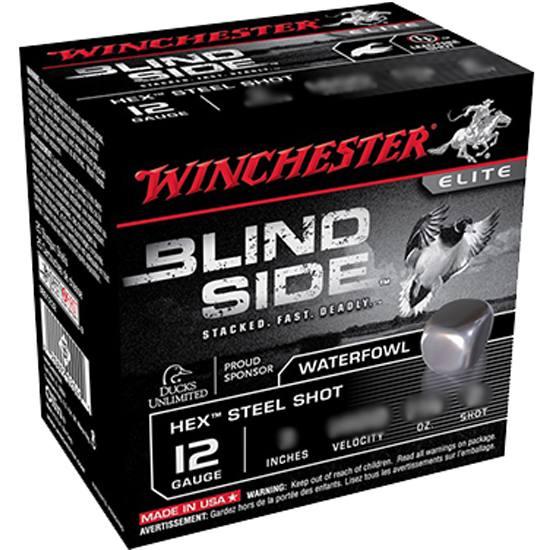 Winchester Ammo SBS123HVBB Blindside 12 Gauge 3 1-1|8 oz BB Shot 25 Bx| 10 Cs in.