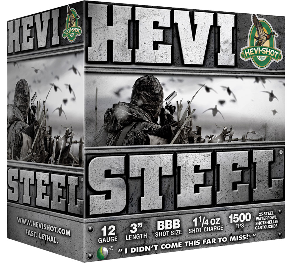 Hevishot 60002 Hevi-Steel 12 Gauge 3in. 1 1/4 oz 2 Shot 25 Bx/ 10 Cs