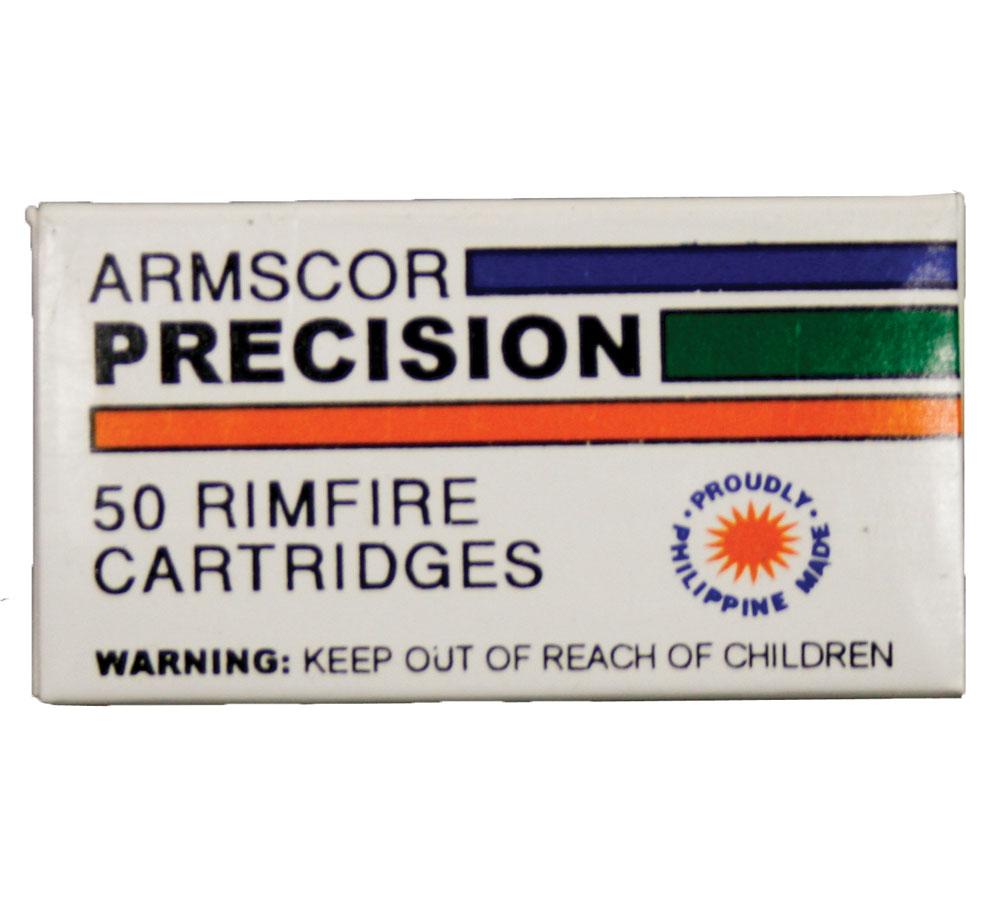 Armscor Standard Velocity Brass .22 Mag 50Rds
