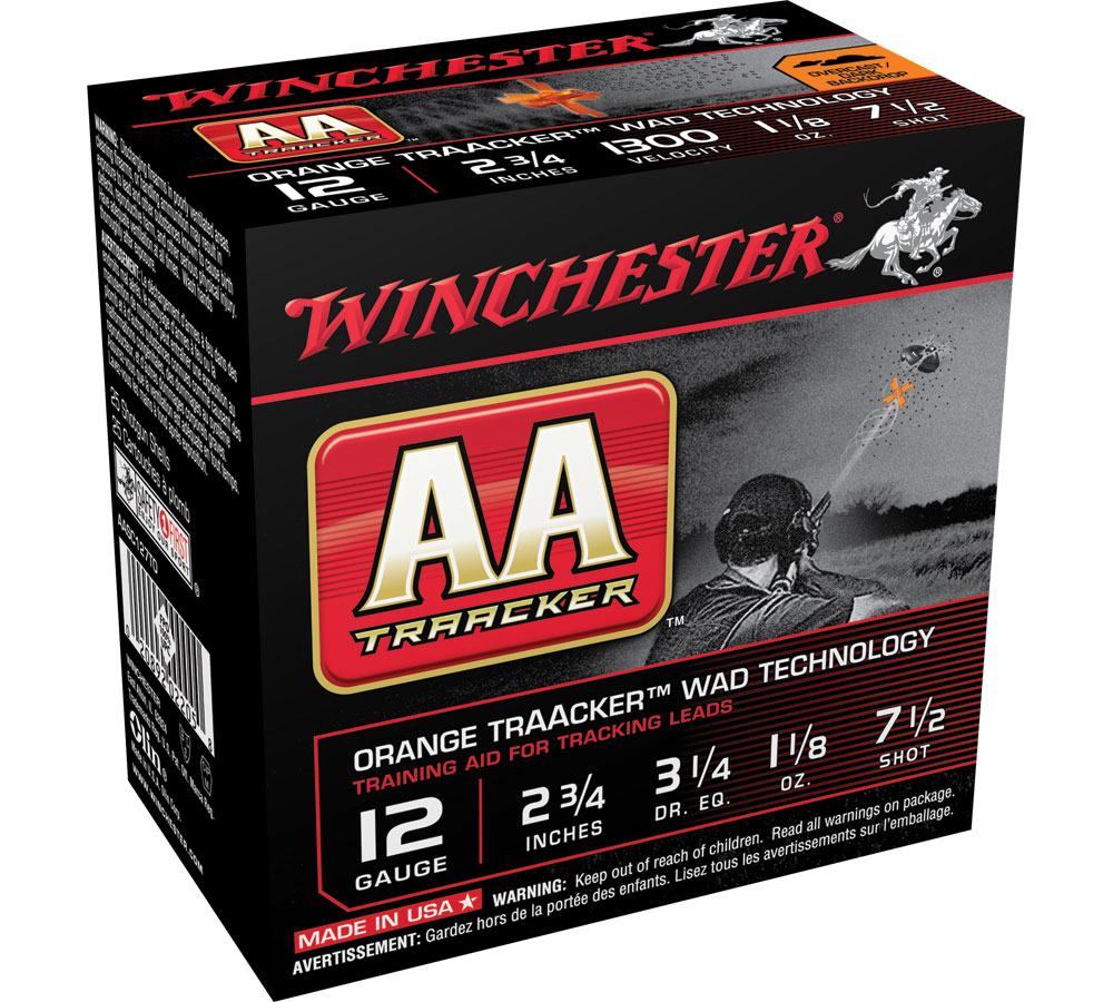 Winchester Ammo AASC127TO AA TrAAcker 12 Gauge 2.75 1-1|8 oz 7.5 Shot 25 Bx| 10 Cs in.