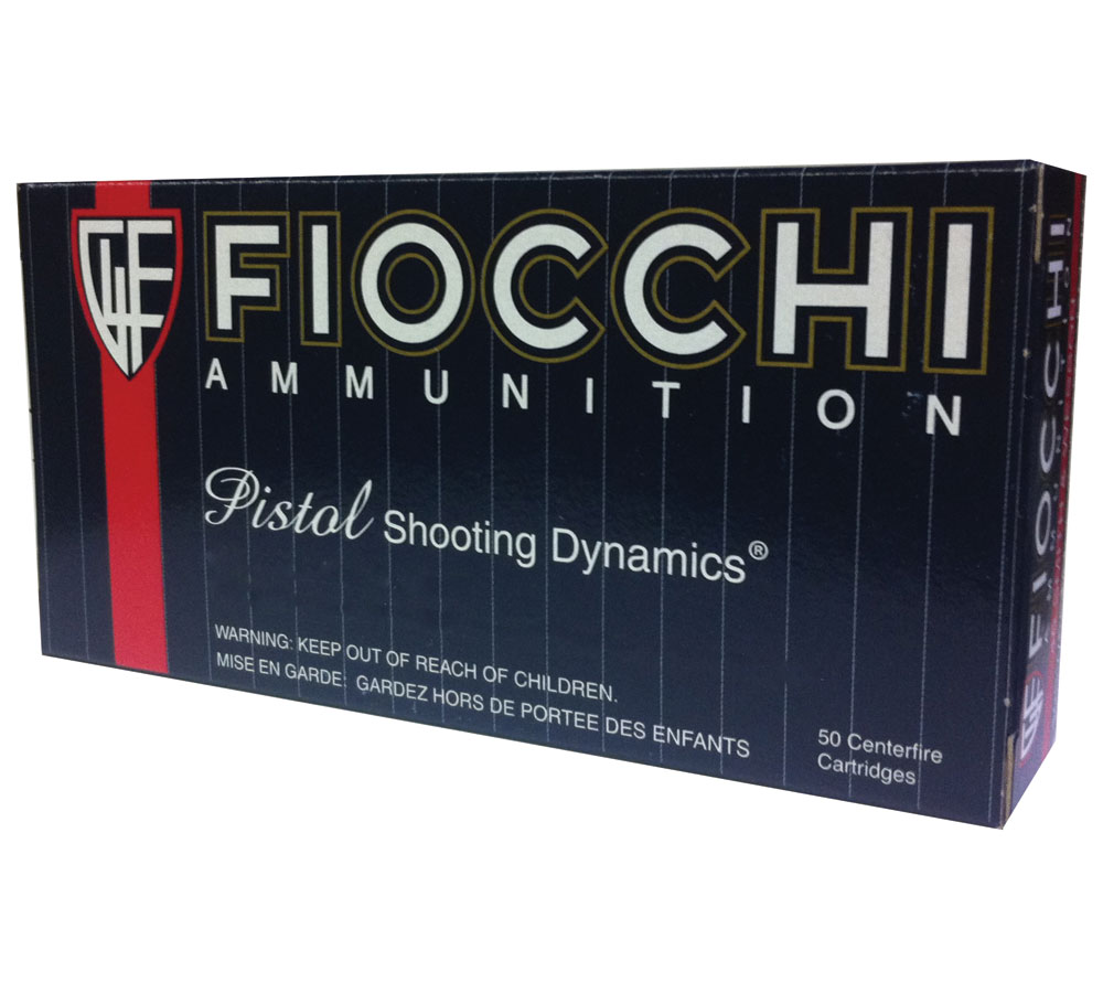 Fiocchi 45B500 Shooting Dynamics 45 Automatic Colt Pistol (ACP) 200 GR Jacketed Hollow Point 50 Bx| 10 Cs