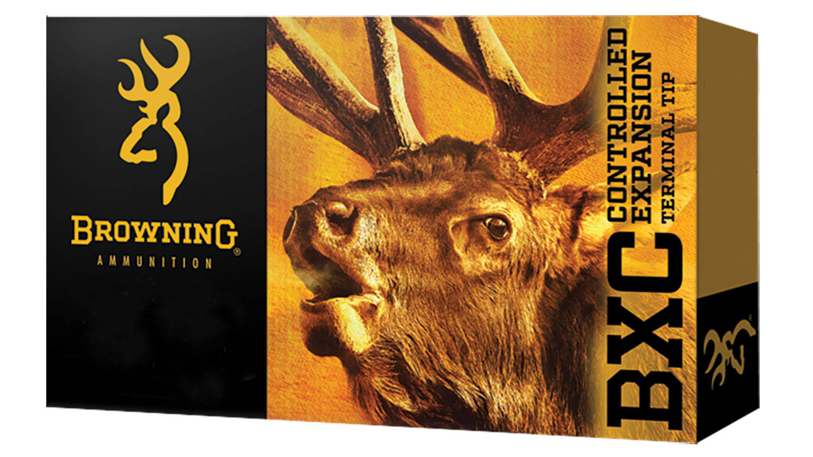 Browning Ammo B192230061 BXC Controlled Expansion 30-06 Springfield 185 GR Terminal Tip 20 Bx| 10 Cs