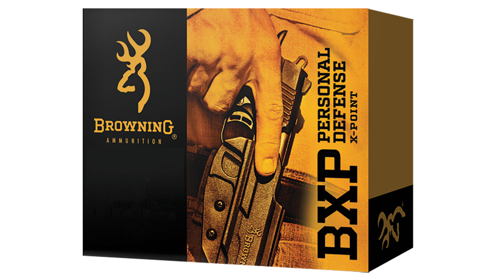 Browning Ammo B191700401 BXP X-Point 40 S&W 180 GR HP 20 Bx| 10 Cs
