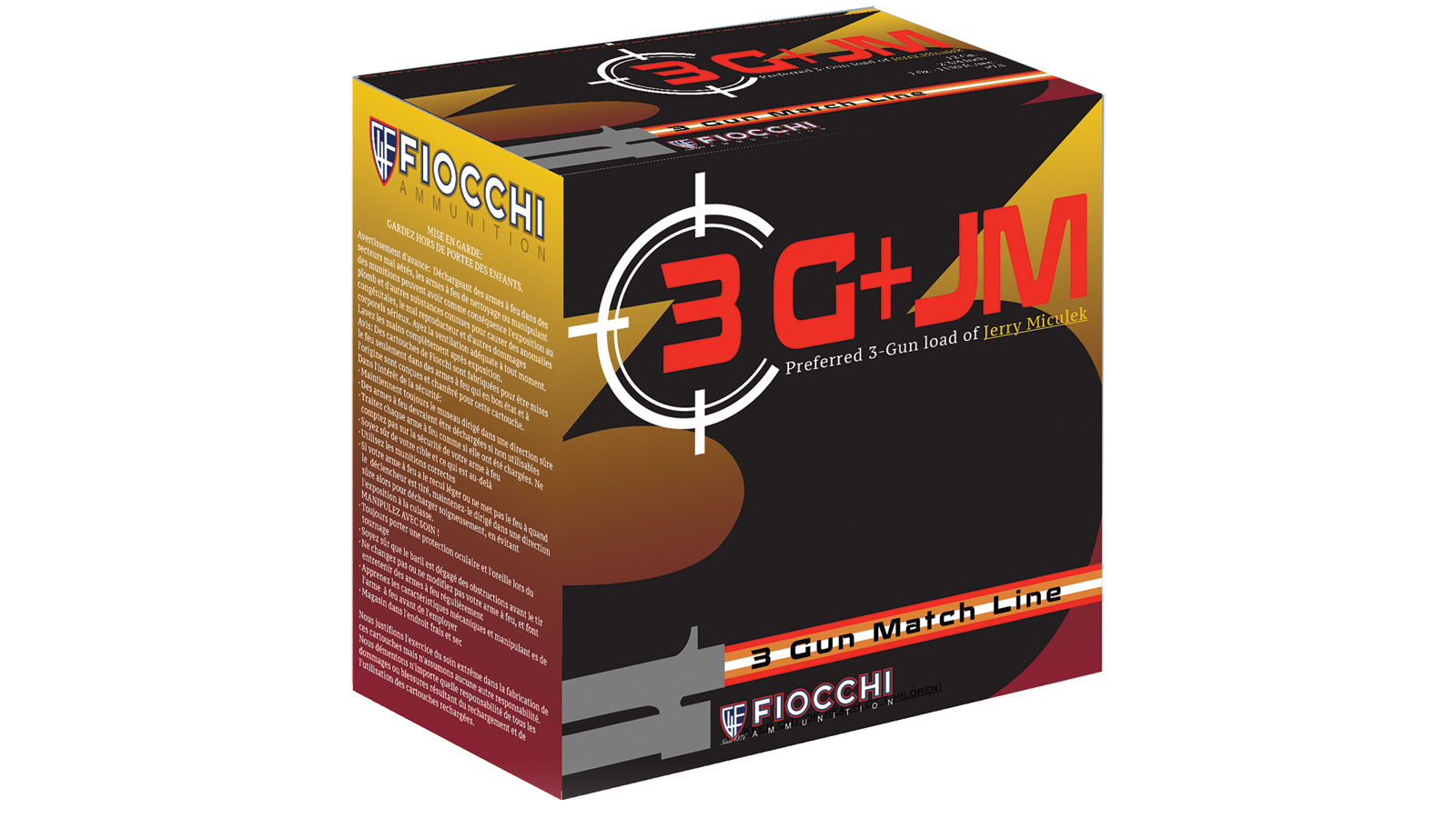Fiocchi Ammo 12WR3G75 3 Gun 12 Gauge Match 2 3|4 in. , 7 1|2 Shot, 1 1|8 oz, Per 25