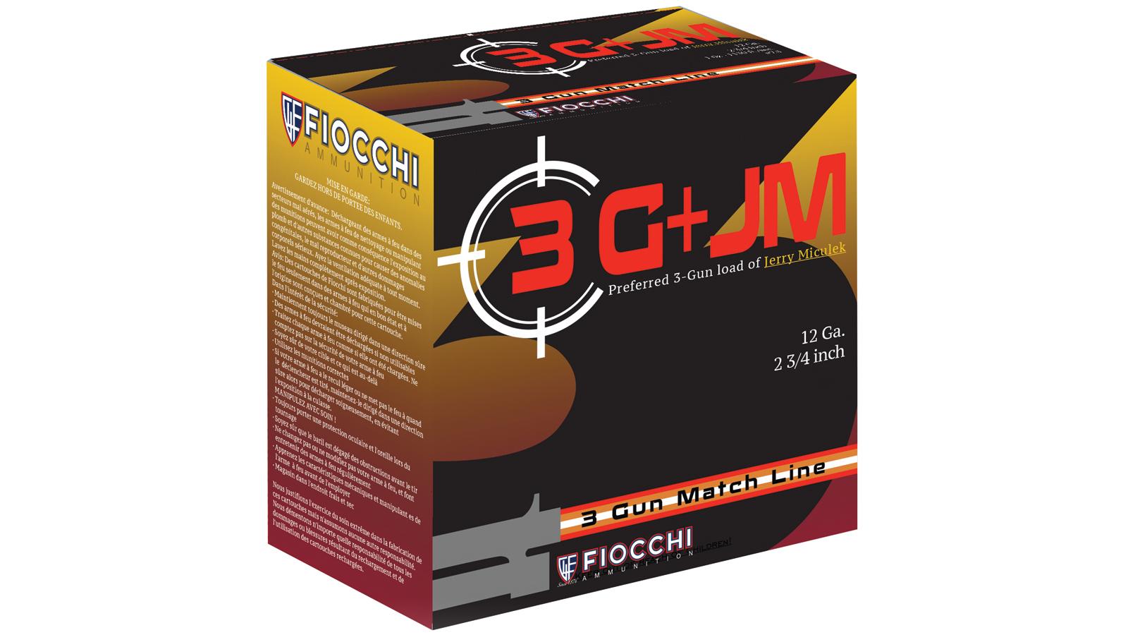 12 Gauge - 2-3|4 in.  00 Buck - Fiocchi 3 Gun - 10 Rounds