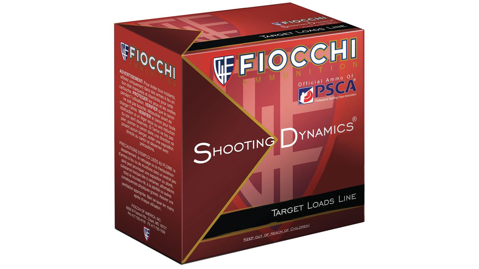 Fiocchi Ammo ShootingDynamics 12ga 2.75 in.  8sh 1oz/25
