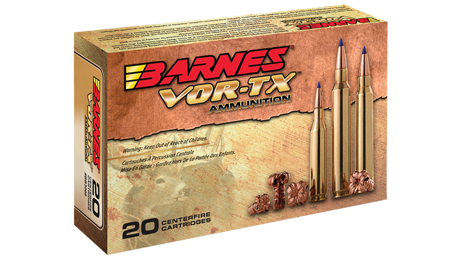Barnes Bullets 31191 VOR-TX 223 Remington|5.56 NATO 70 GR TSX Boat Tail 20 Bx| 10 Cs