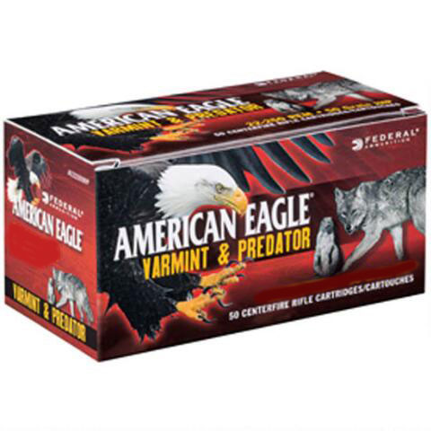 Federal AE308130VP American Eagle Varmint & Predator 308 Winchester|7.62 NATO 130 GR Jacketed Hollow Point 40 Bx| 5 Cs