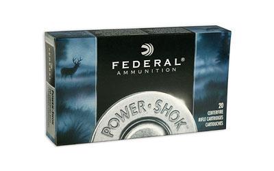 Federal 24385LFA Power-Shok Rifle 243 Winchester 85 GR Copper Hollow Point 20 Bx| 10 Cs
