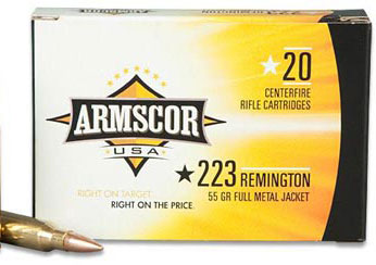 Armscor 223REM 55GR PSP 20 ROUNDS