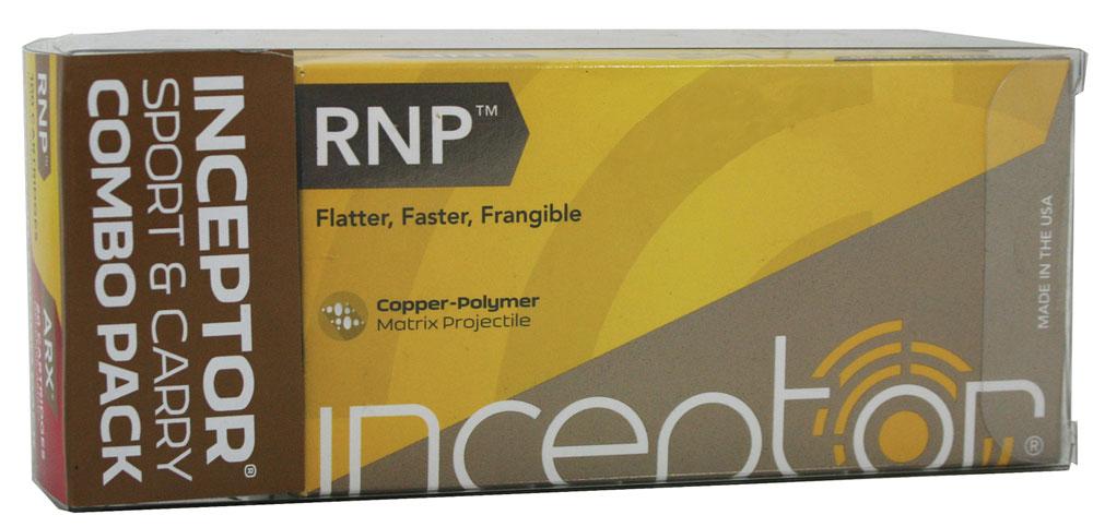 Polycase Inceptor .45ACP 130gr RNP 50rds
