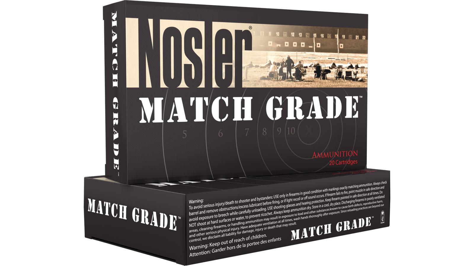 Nosler 60031 Match Grade 33 Nosler 300 GR Custom Competition 20 Bx| 10 Cs