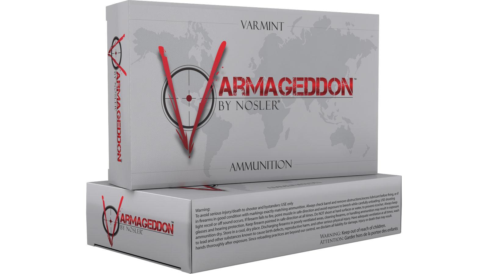 Nosler 65139 Varmageddon 223 Remington|5.56 NATO 53 GR Flat Base Tip 20 Bx| 10 Cs