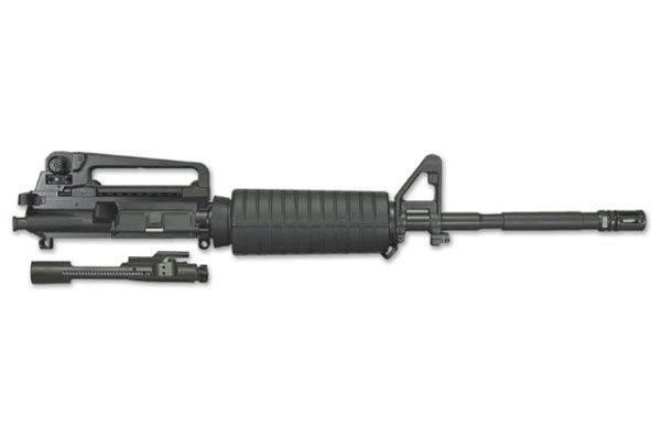 Windham Weaponry UR16M4A4B Complete Upper Assembly 223 Remington|5.56 NATO 16 4150 Steel M4 Profile Black Barrel Finish in.