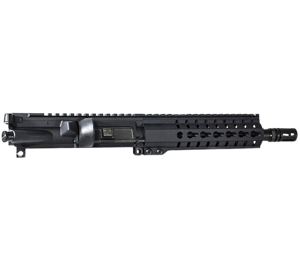 CMMG 90B3BF0 Upper Group 9mm 8.5 4140 Chrome Moly Steel Medium Taper Black Brl Finish in.