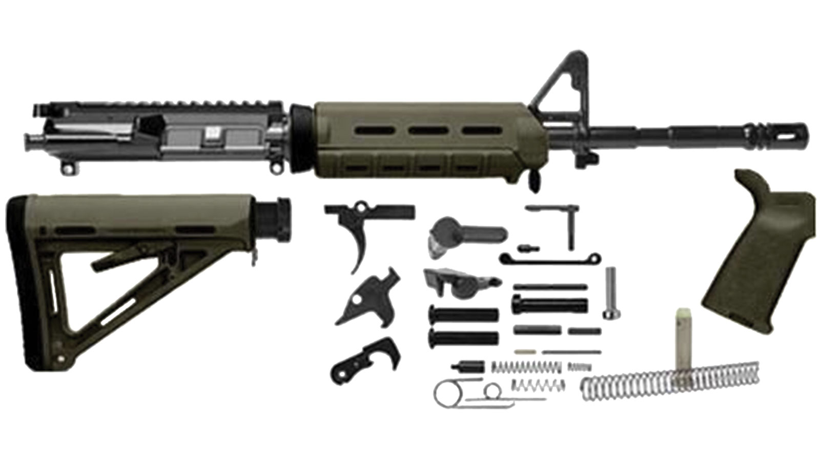 Del-Ton M4 Rifle Kit OD Green .223 16-inch