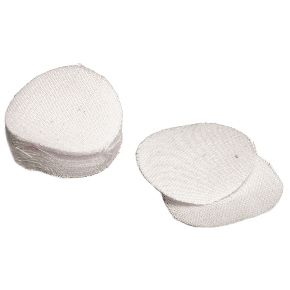 T|C Accessories 31007044 Round Ball Patches Prelubed Cotton 54|56