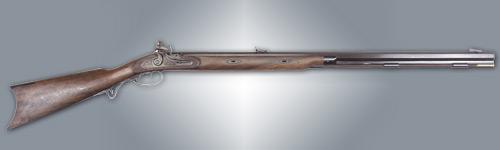 Lyman Great Plains Muzzleloading Rifle .54 Caliber 32-inch Flintlock Wood Stock