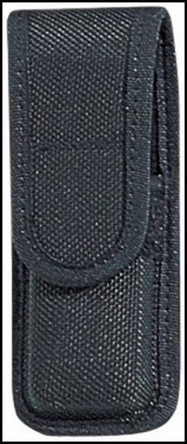 Bianchi 17427 Single Mag Pouch 7303 Up to 2.25 Belt Black Accumold Trilaminate in.