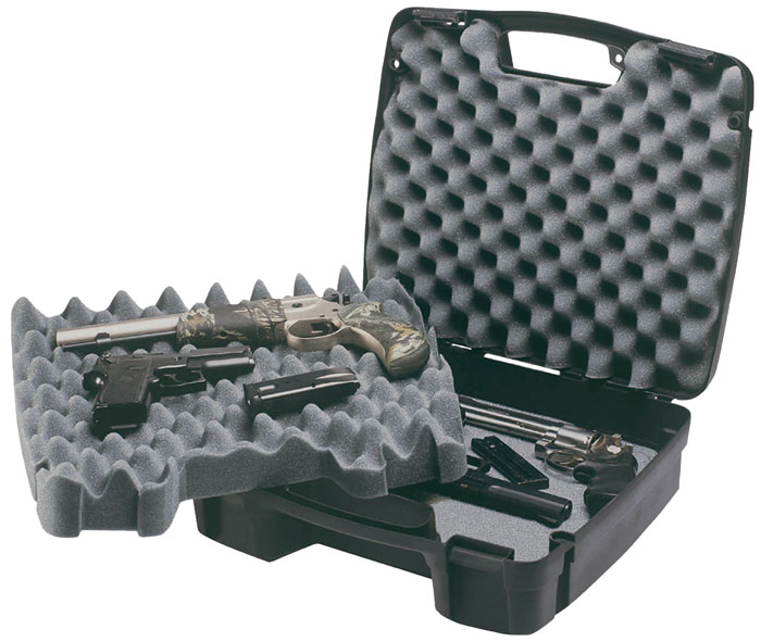 Plano 10-10164 SE Four Pistol|Accessory Case Plastic Ribbed