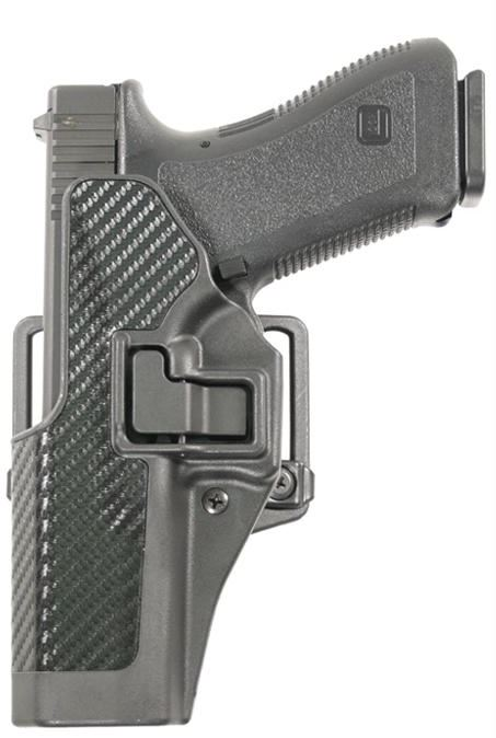 Blackhawk! Serpa CQC BL|PDL CF for Glock 19 LH Black