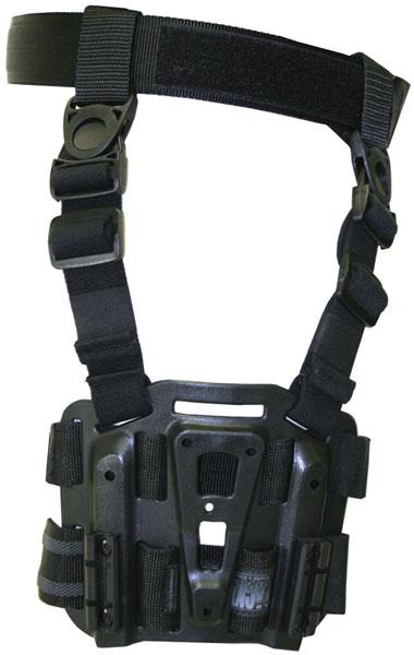 Blackhawk 432000PBK Tactical Holster Platform Carbon Fiber Black