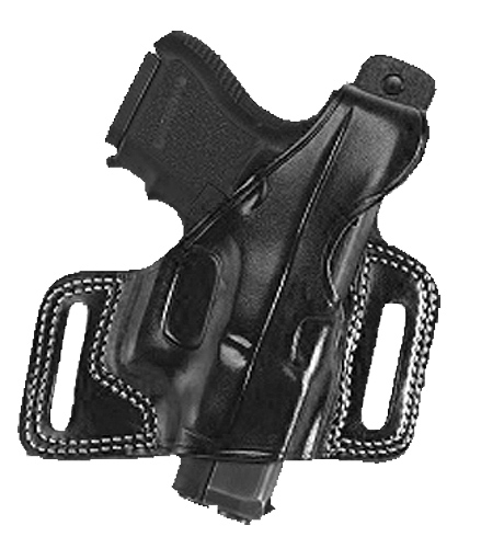 Galco SIL212B Silhouette Auto 212B Fits Belts up to 1.75 Black Leather in.