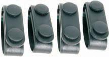 Blackhawk 44B300BK Belt Keeper Set of 4 Black Nylon