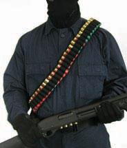 Blackhawk 43SB55BK Shotshell Bandolier Universal Shotgun Nylon Black