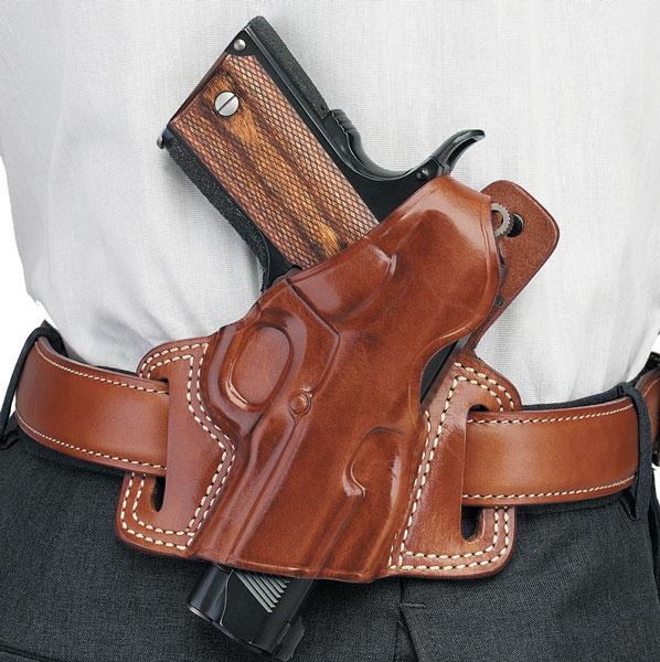 Galco SIL126 Silhouette Revolver Tan