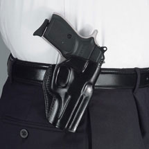 Galco Stinger Belt Holster - Right Hand, Black, Ruger LCP and Kel-Tec P3AT/P32 SG436B
