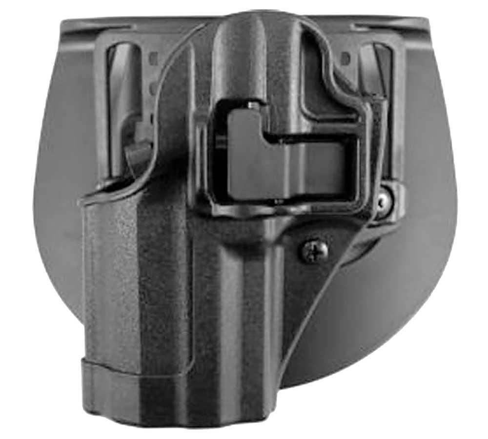 Blackhawk 410513BKL Serpa CQC Concealment LH Matte Finish 13 Glock 20|21 Polymer Black