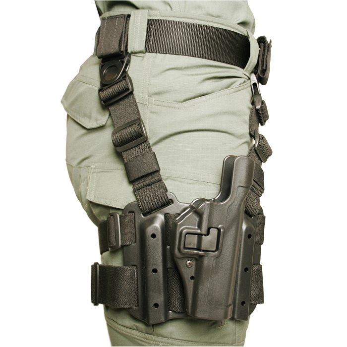 Blackhawk! Serpa Tactical Level 2 Sig Sauer 220 RH Black