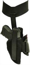 Blackhawk 40AH16BKL Ankle Holster 40AH16BKL 16 Black Knit Fabric