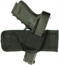 Blackhawk 40CS00BK Belt Slide Compact Holster 1000 Denier Cordura Nylon Black