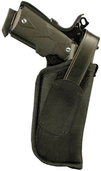 Blackhawk 40HT16BKR Hip Holster with Thumb Break 3.25-3.75 Barrel Medium|Large Auto Nylon Black in.