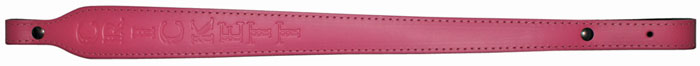 Crickett 802 Leather Rifle Sling Pink