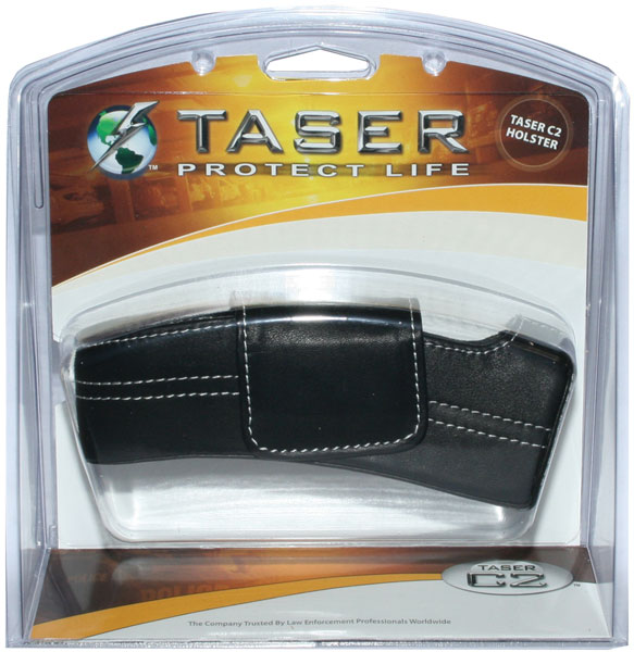 Taser C2 Leather Holster Ejection RH Black