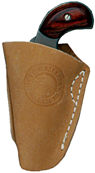 North American Arms Inside Pant Holster Brown 22LR