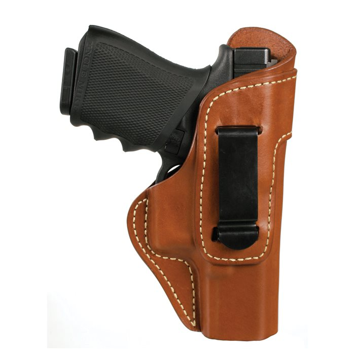 Blackhawk! Leather ISP with Clip Holster